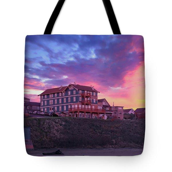Hotel Skies Tote Bag