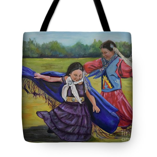 Houma Indian Dance Tote Bag