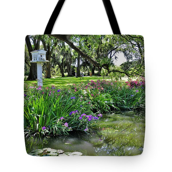 Houmas House Pond Tote Bag