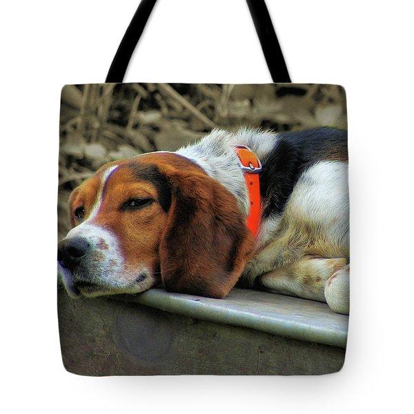 Hound Dog Tote Bag