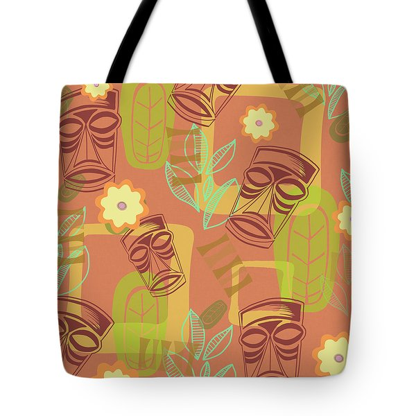 Hour At The Tiki Room Tote Bag