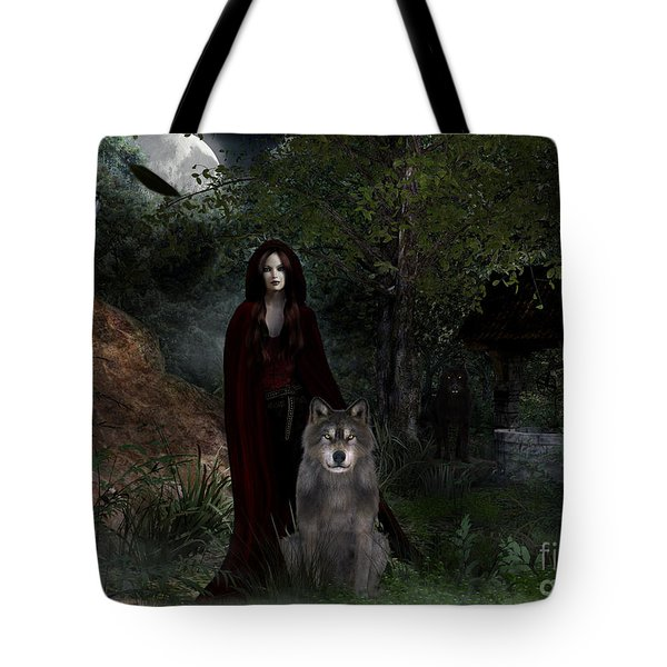 Hour Of The Wolf Tote Bag