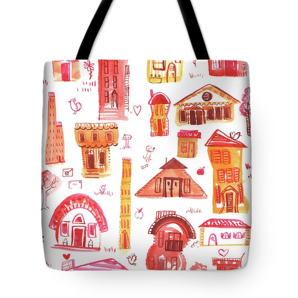 House And Home Tote Bag