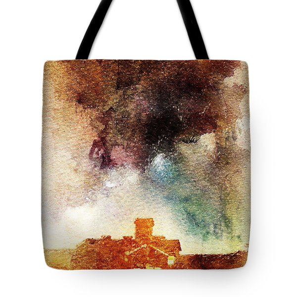 House And Night Tote Bag