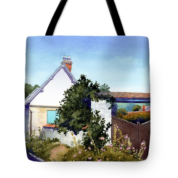 House At Giverny Tote Bag