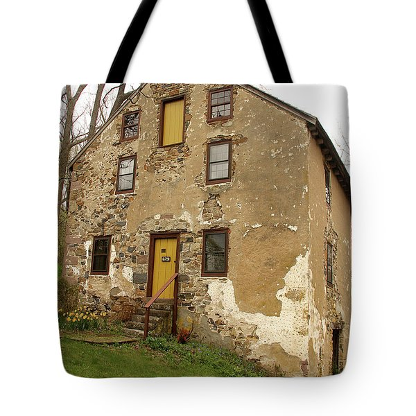 House In Pennsylvania Tote Bag by Emanuel Tanjala