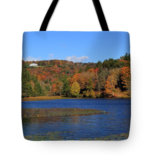 House In The Mountains Tote Bag