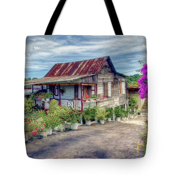 House Of Flowers  Tote Bag