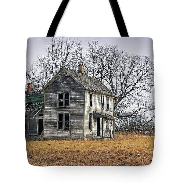 House Of Kansas Past Tote Bag