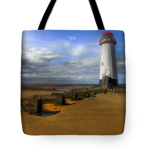 House Of Light Tote Bag by Adrian Evans