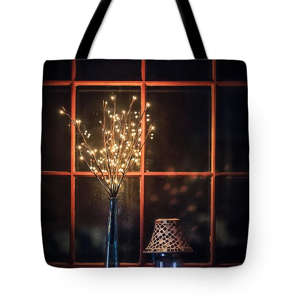House Of Mystic Lights Tote Bag