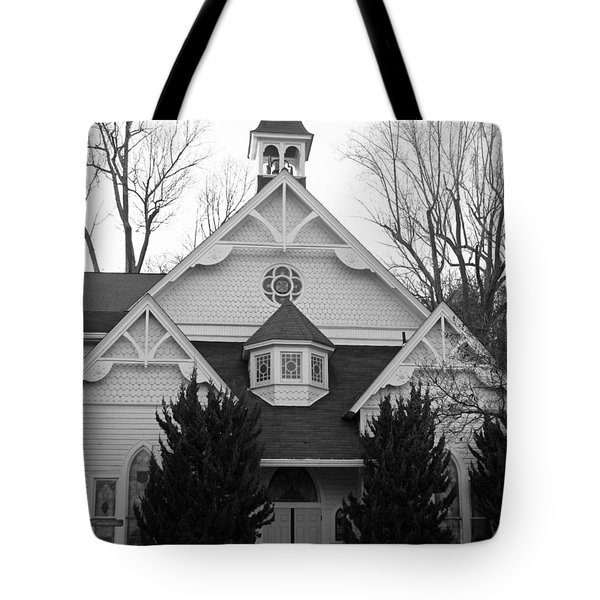 Tote Bag featuring the photograph House Of Prayer by Emmy Marie Vickers