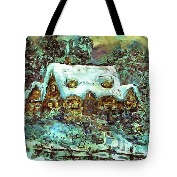 House Of Solace Tote Bag