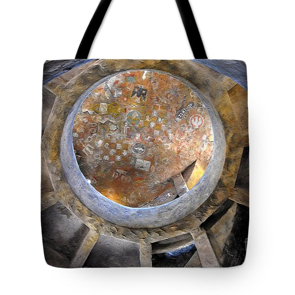 House Of The Hopi Tote Bag by David Lee Thompson