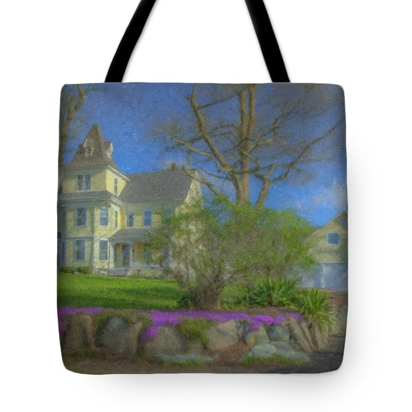House On Elm St., Easton, Ma Tote Bag
