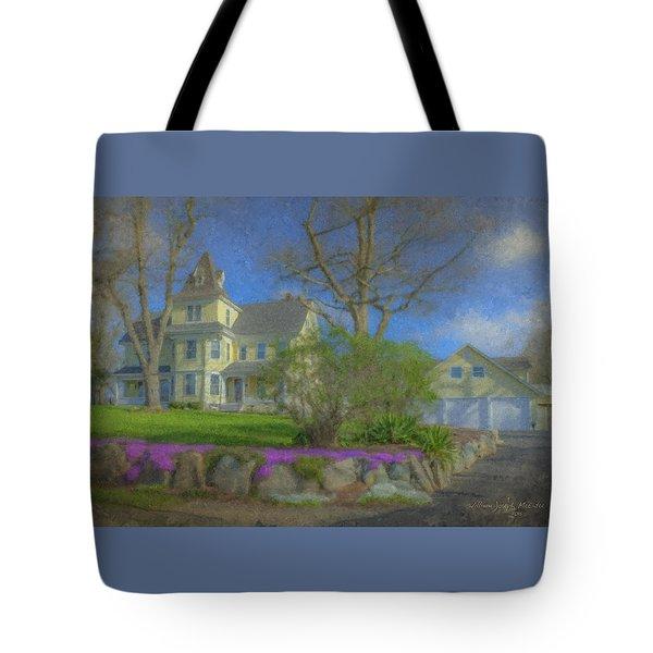 House On Elm St., Easton, Ma Tote Bag