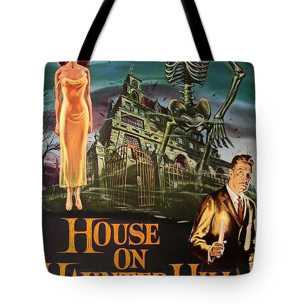House On Haunted Hill 1958 Tote Bag