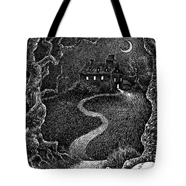 House On The Hill Tote Bag