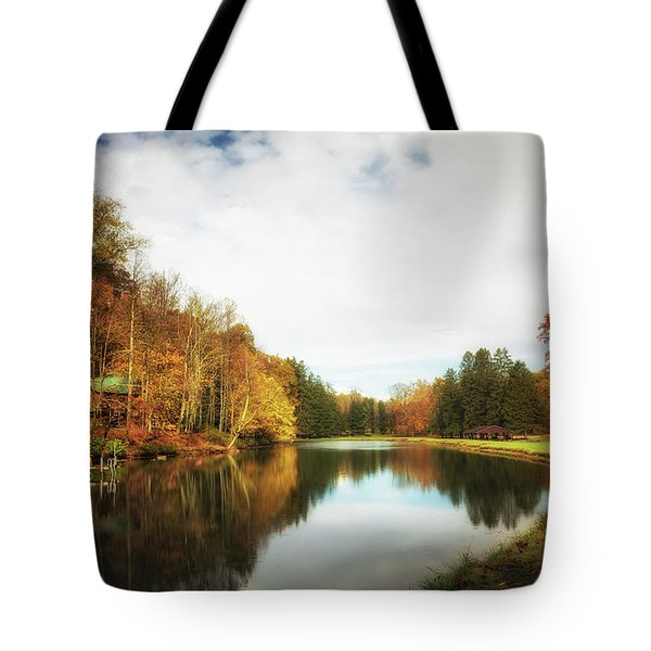 House On The Lake II Tote Bag