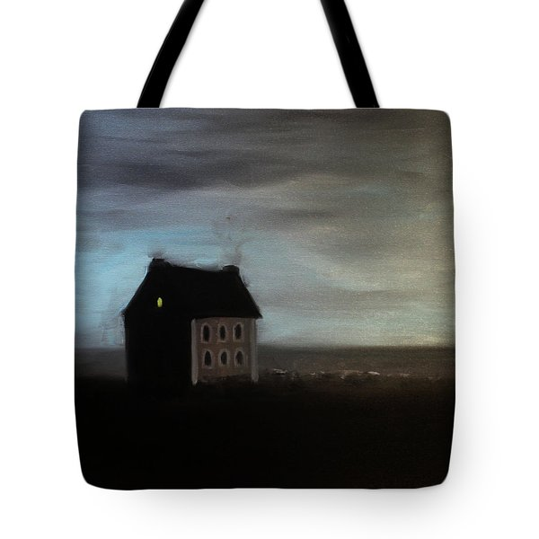 House On The Praerie Tote Bag by Tone Aanderaa