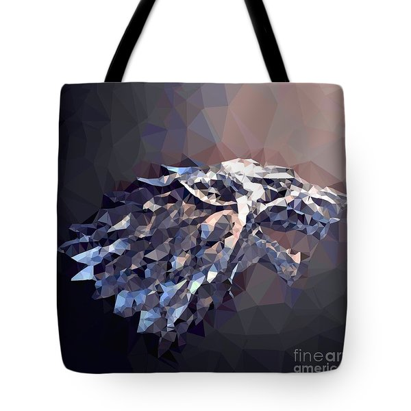 Tote Bag featuring the digital art House Stark by Helge