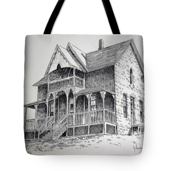House Virginia City Montana Tote Bag by Kevin Heaney