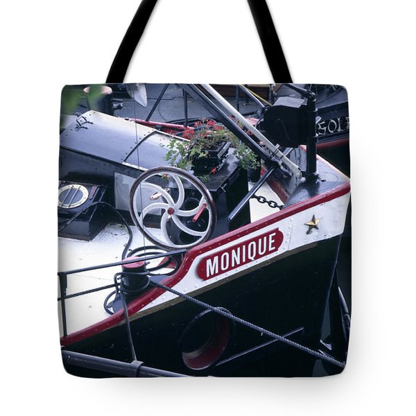 Houseboat In France Tote Bag