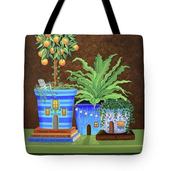 Houseplants Tote Bag