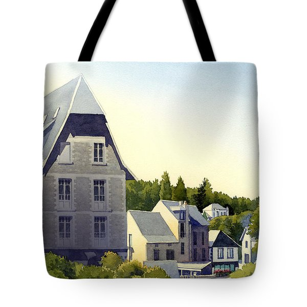 Houses At Murol Tote Bag