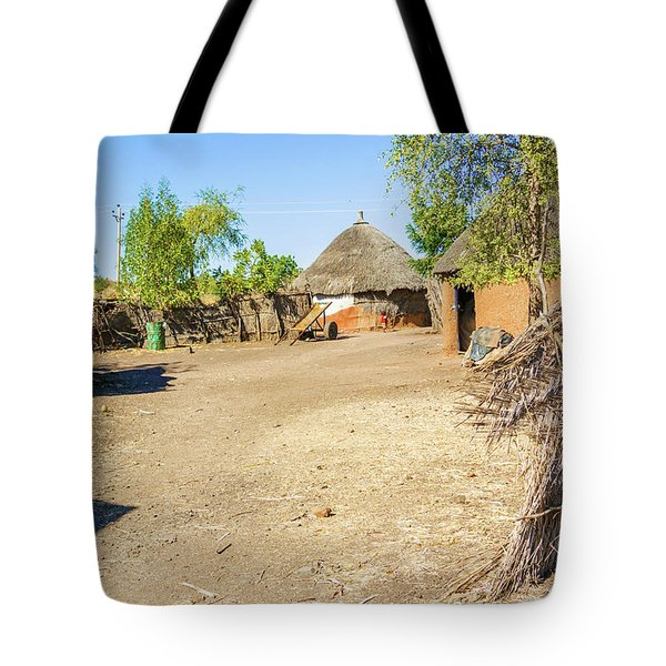 Houses In Rashid,  Sudan Tote Bag