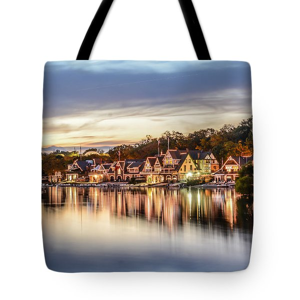 Houses On The Water Tote Bag