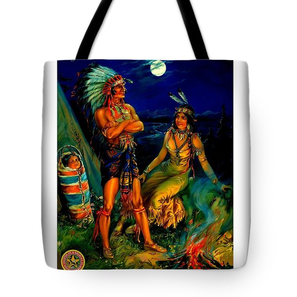 Tote Bag featuring the painting Houston Brewing Company Poster Circa 1910 by Peter Gumaer Ogden Collection