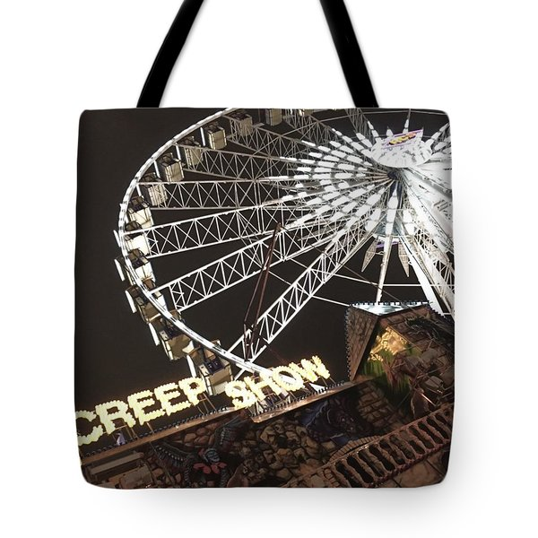 Creepy Carnival Tote Bag