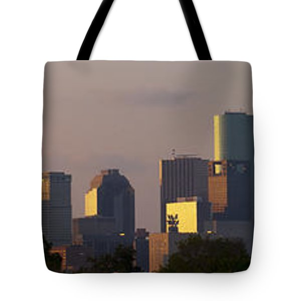 Houston Sunset Tote Bag
