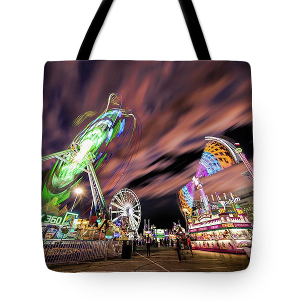 Houston Texas Live Stock Show And Rodeo #1 Tote Bag by Micah Goff