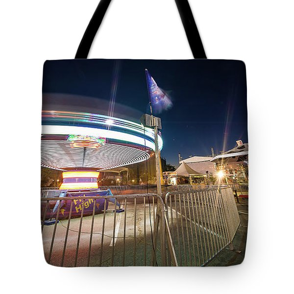 Houston Texas Live Stock Show And Rodeo #11 Tote Bag by Micah Goff