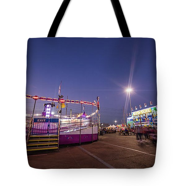 Houston Texas Live Stock Show And Rodeo #12 Tote Bag by Micah Goff