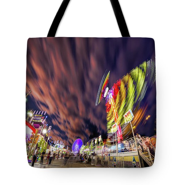 Houston Texas Live Stock Show And Rodeo #3 Tote Bag by Micah Goff