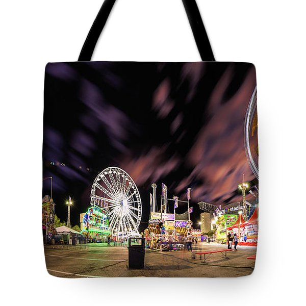 Houston Texas Live Stock Show And Rodeo #4 Tote Bag by Micah Goff