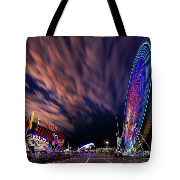 Houston Texas Live Stock Show And Rodeo #5 Tote Bag by Micah Goff
