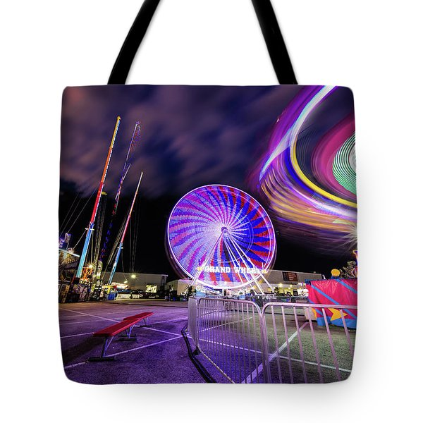 Houston Texas Live Stock Show And Rodeo #6 Tote Bag by Micah Goff