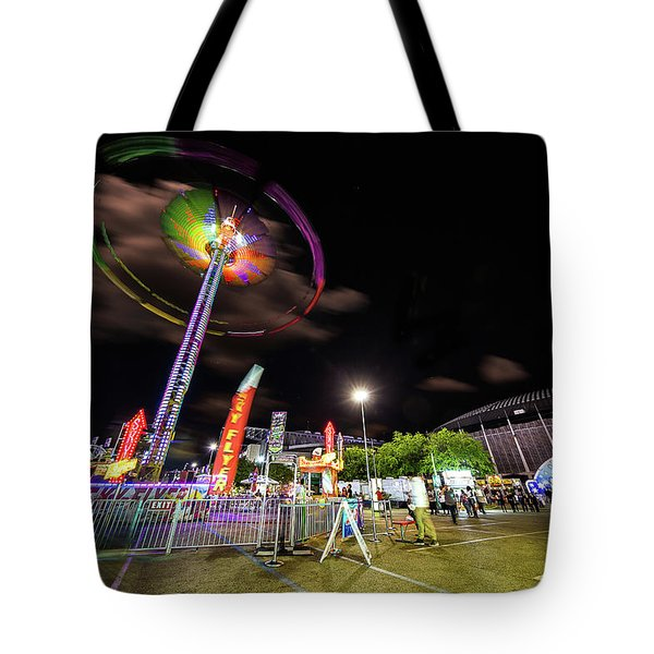 Houston Texas Live Stock Show And Rodeo #7 Tote Bag by Micah Goff