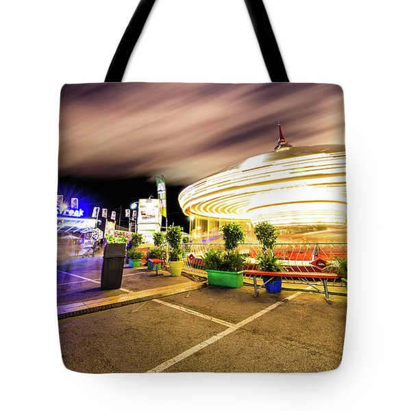 Houston Texas Live Stock Show And Rodeo #8 Tote Bag by Micah Goff