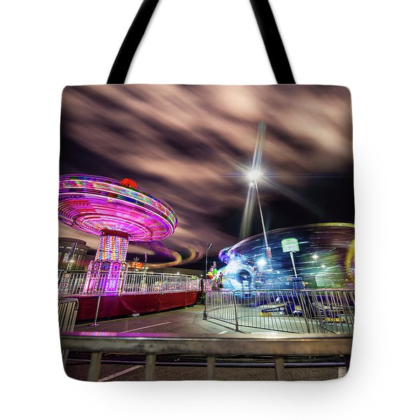 Houston Texas Live Stock Show And Rodeo #9 Tote Bag by Micah Goff