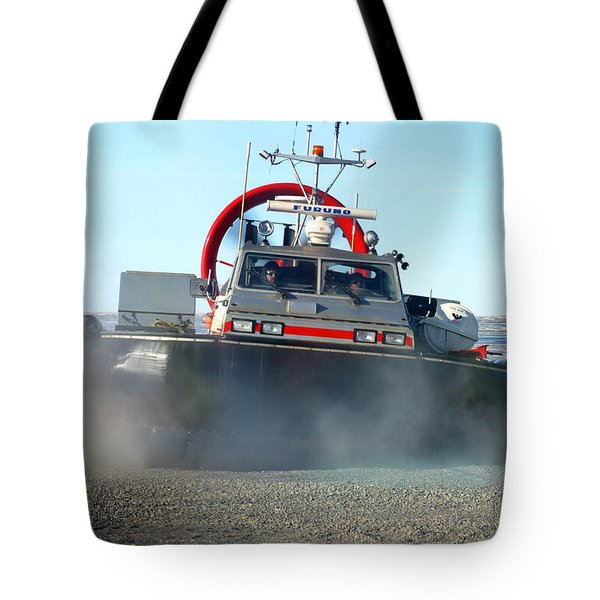 Hover Craft Tote Bag by Anthony Jones