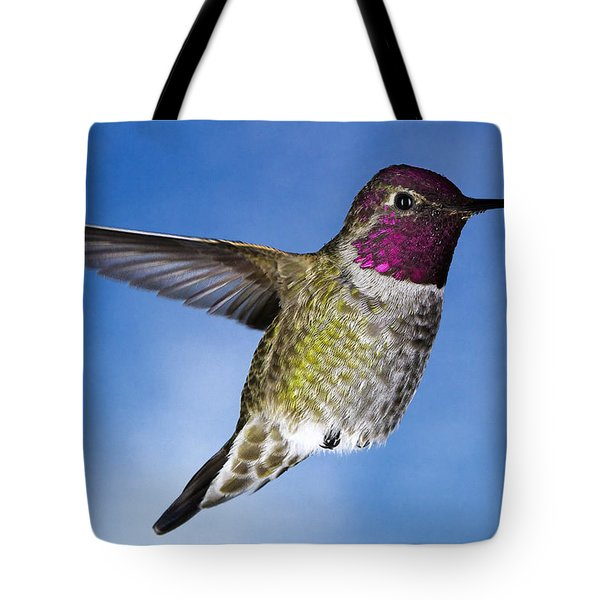 Tote Bag featuring the photograph Hovering In Sky by William Lee