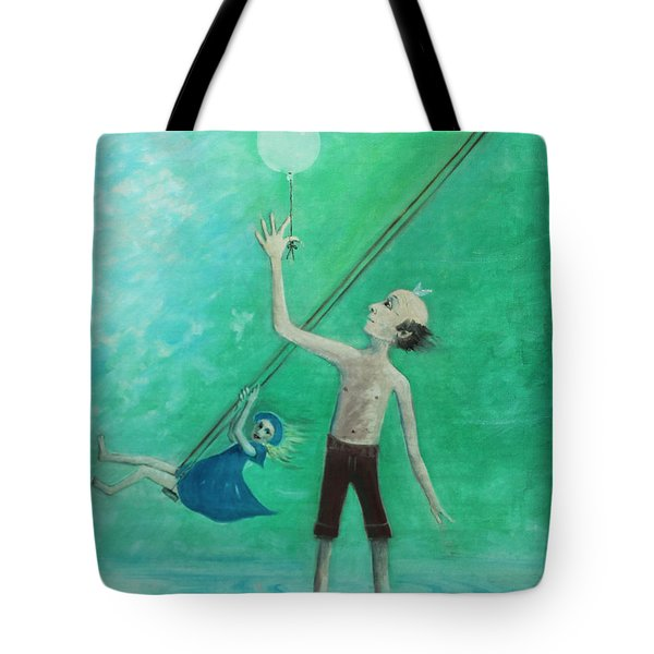 How High Can I Fly? Tote Bag by Tone Aanderaa