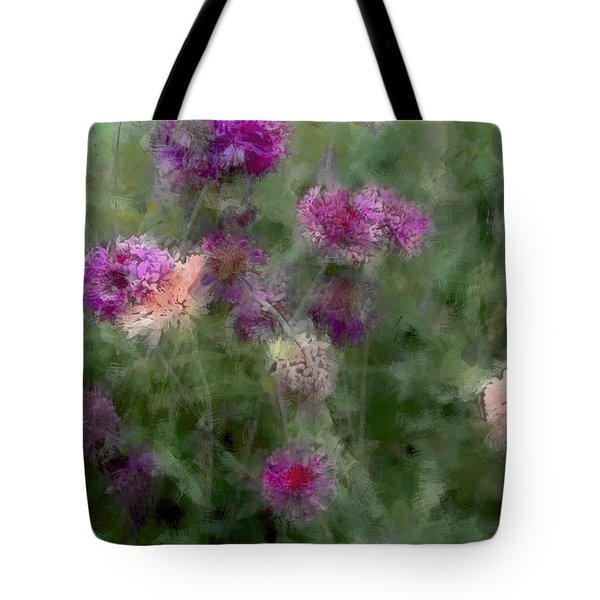 How I Love Flowers Tote Bag