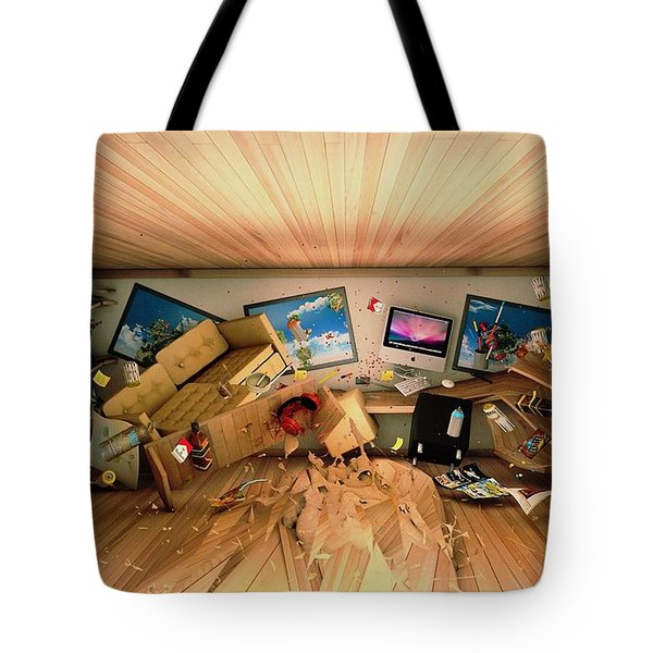 How Long Was I Gone Update Art Abstract Tote Bag