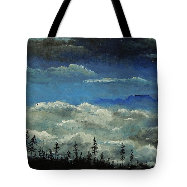 How Majestic Is Your Name Tote Bag by Dan Whittemore